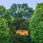 Cabane famille des Grands Chênes cachette